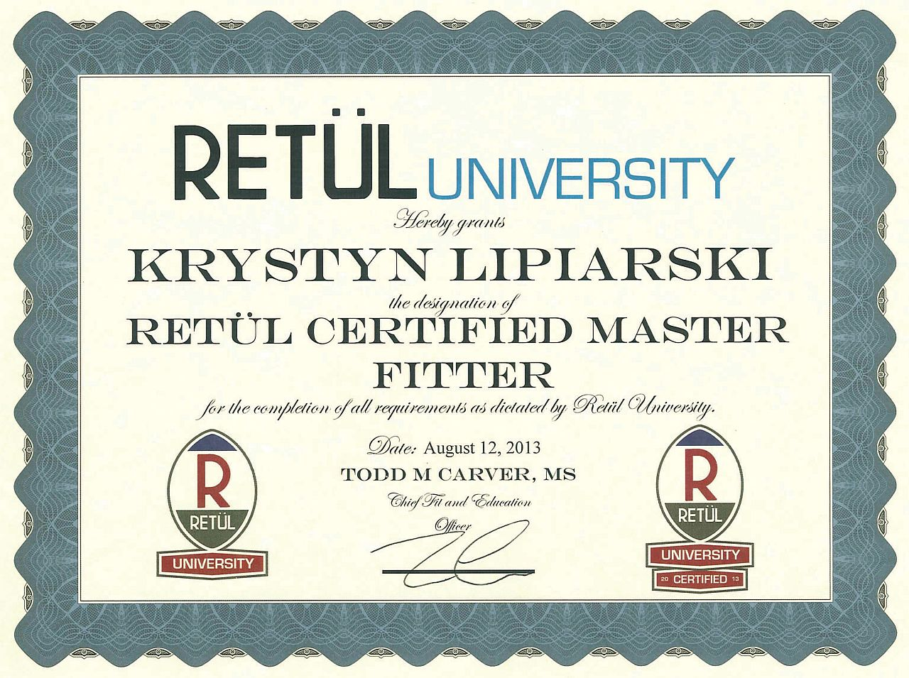 Certyfikat2013